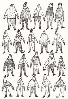 Hard to find a man / ORIGINAL DRAWING / Black and white by Tosya, $40.00