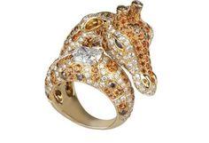 Boucheron giraffe ring