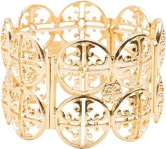 Medallion stretch bracelet. http://www.swell.com/New-Arrivals-Womens/MEDALLION-STRETCH-BRACELET?cs=GO