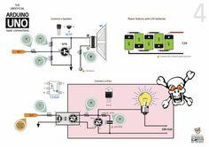 Краткое справочное руководство по основным устройствам Arduino  Basic Arduino Connections Quick Reference Guide