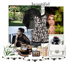 """""""Untitled #438"""" by misaflowers ❤ liked on Polyvore featuring Avenue, Oasis, Marc by Marc Jacobs, AERIN and Fetco"""
