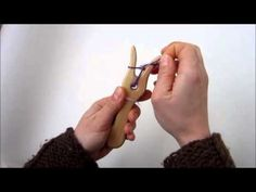 How To Use A Lucet / Knitting Fork - Slow Version