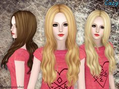 Cazy's September Hairstyle - Set
