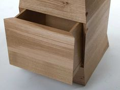 'Infiniti' chest of drawers by Sarah Kay in English Oak