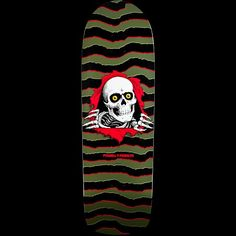 Powell Peralta Old School Ripper Olive Deck Skateboard Parts e780d358565