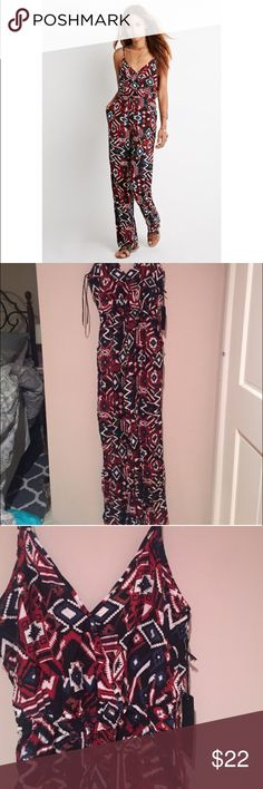 Forever 21 Aztec Jumpsuit Brand new with tags Aztec print jumpsuit from Forever 21. Forever 21 Pants Jumpsuits & Rompers
