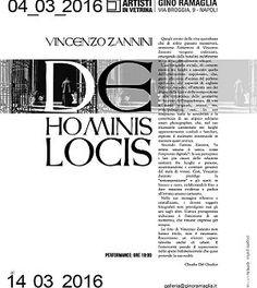 """In una location storica, Gino Ramaglia Artisti in Vetrina , si terrà la personale di Vincenzo Zannini """"De Hominis Locis"""". Ingresso libero. #arte #fotografia #Napoli"""
