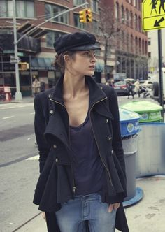 Way to rock the newsboy cap trend: DZOJCHEN S/S12 & Cruise Collection