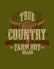 True Country Tee. ON SALE. Only a few left!