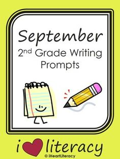 September 2nd Grade Common Core Writing Prompts $