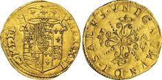 NumisBids: Numismatica Varesi s.a.s. Auction 65, Lot 440 : MILANO - FILIPPO II DI SPAGNA (1556-1598) Scudo d'oro del Sole. D/...