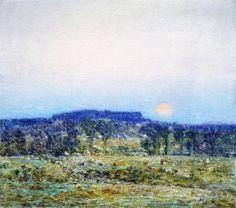 Childe Hassam - September Moonrise, 1900