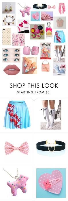 """""""carnival"""" by silver-setzed ❤ liked on Polyvore featuring cutekawaii, As Is and Hard Candy"""