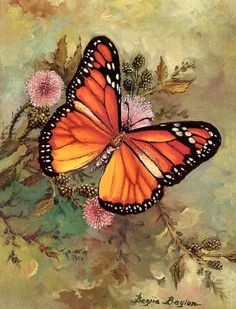 Butterfly Painted by Benjie Baylon