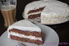 karolina-azzaro: Čokoládová torta s kokosovým krémom z Mascarpone Azzaro, Other Recipes, Vanilla Cake, Tiramisu, Ethnic Recipes, Sweet, Food, Bar, Mascarpone