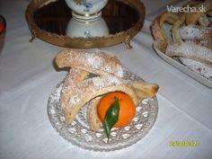 Trdelník (fotorecept) - recept   Varecha.sk Dairy, Cheese, Food, Basket, Essen, Meals, Yemek, Eten