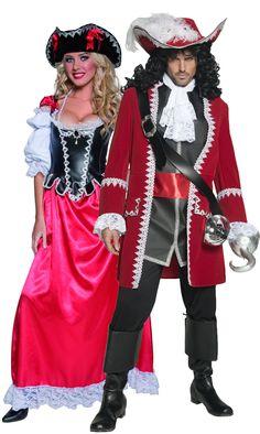 Authentic Pirate costumes £84.82