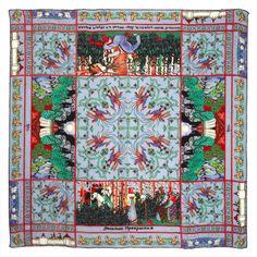 """#Russian Fairy Tales #Kinloch #Finaest #SilkScarf"""""""