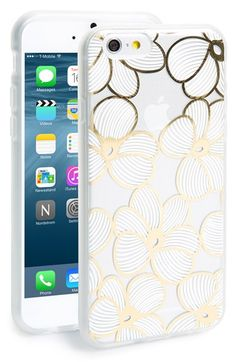 Sonix 'Azalea' iPhone 6 Case at Nordstrom.com. A gilded floral print adds a touch of glamour to this stylish case designed with an impact-resistant rubber bumper to protect your favorite tech.