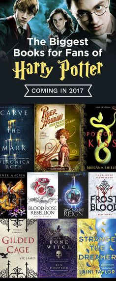 An incredible list of books to read if you love Harry Potter. Must add to your 2017 reading list!