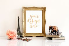 Gold Frame Mock Up,Stock Photography,Vertical Frame Mock Up,Frame Mockup,Frame Mock Up,Wall Art Display Template,High Res File,#MG001 by AileenStudio on Etsy https://www.etsy.com/listing/486340023/gold-frame-mock-upstock