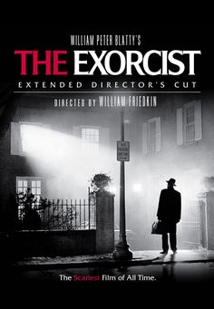 The Exorcist, a horror film starring the actress Linda Blair as a girl possessed by an evil spirit, debuted in theaters; and went on to earn a reputation as one of the scariest movies in history. Famous Movie Posters, Horror Movie Posters, Famous Movies, Exorcist Movie, The Exorcist 1973, Best Horror Movies, Great Movies, Best Halloween Movies, Halloween Halloween