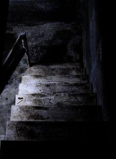 dark creepy basement. Old Staircase by Danielle Denham  2011 Creepy Basement ashleygino on deviantART Ideas Pinterest
