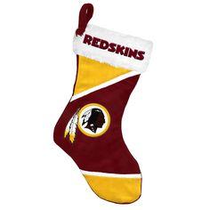 Washington Redskins Colorblock 2014 Holiday Stocking