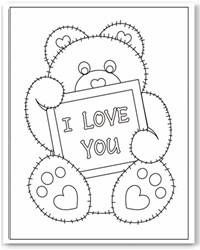 Valentine Hearts Coloring Pages Free Heart Printables | Paper Art ...