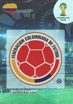 Card 76: Colombia - Panini FIFA World Cup Brazil 2014. Adrenalyn XL - laststicker.com