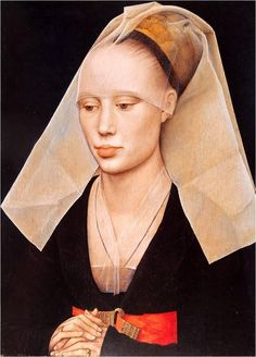 Rogier van der Weyden, Portrait of a Lady 1460