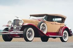 "1931 Duesenberg Model J Dual Windshield ""Barrelside"" Phaeton by LeBaron"