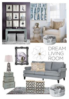 """""""My dream living room"""" by astrokeofot ❤ liked on Polyvore"""