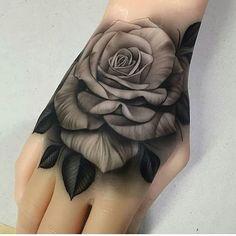 Japanese Tiger Hand Tattoo — Hand Tattoos & Home Decor Dope Tattoos, Badass Tattoos, Trendy Tattoos, Body Art Tattoos, New Tattoos, Sleeve Tattoos, Tattos, Tiger Hand Tattoo, Rose Hand Tattoo