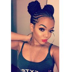 Cornrows are ideal hairstyles for women with hair that can be easily plaited. These are the Latest Trending Cornrow Hairstyles Causing A Big Buzz In Town Ghana Braids Hairstyles, African Hairstyles, Cute Hairstyles, Black Hairstyles, Everyday Hairstyles, Hairstyles 2016, Celebrity Hairstyles, Natural Hair Care, Natural Hair Styles
