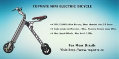 TOPMATE MINI ELECTRIC BICYCLE FASHION(GREEN,GRAY,GOLDEN,THREE COLOR OPTIONS) for more information please visit:www:topmate.cc Electric Tricycle, Green And Grey, Gray, Carbon Fiber, Bicycle, Aviation, Color, Fashion, Moda