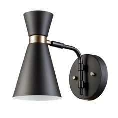 Buy the Globe Electric 65855 Black Direct. Shop for the Globe Electric 65855 Black Belmont Single Light Tall Wall Sconce and save. Wall Sconce Lighting, Wall Sconces, Wall Lamps, Bathroom Lighting, Cabin Lighting, Vanity Lighting, Lighting Ideas, Track Lighting, Home Depot