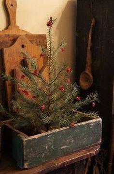 primitive christmas decorating small christmas tree decor christmas tree boxes primative christmas tree old fashioned christmas decorations - Primitive Christmas Crafts