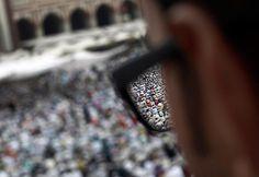 24 Hours: Muslims offering last Friday prayers at the Jama Masjid in Delhi