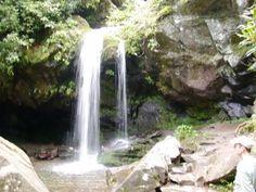Grotto Falls Hike Great Smoky Mountains Natonal Park, NC