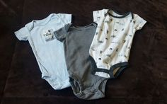3 Child of Mine One-Pieces for Infant Boy size 0-3 Months | Clothing, Shoes & Accessories, Baby & Toddler Clothing, Boys' Clothing (Newborn-5T) | eBay!