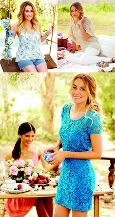 Lauren Conrad Ombre Hair Style I need to get a curling iron!