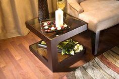 Modern wooden side table design #modernsidetables modern design #livingroomdesign side tables #moderndesignideas modern living room . See more inspirations at www.coffeeandsidetables.com