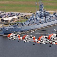 Coast Guard Aviation Training Center Mobile, Alabama. Coast Guard Boats, Navy Coast Guard, Military Helicopter, Military Aircraft, Coast Gaurd, Uss Alabama, Aviation Training, Tug Boats, Armada