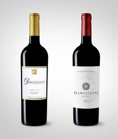 Damasceno Red Wine by Miguel Batista from Nektar Brand Advertisers (redesign)