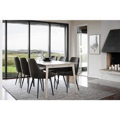 Rowico Tyler Matbord Vitpigmenterad 180cm - Matbord - Bord Dining Table, Windows, Furniture, Home Decor, Casket, Decoration Home, Room Decor, Dinner Table, Home Furnishings