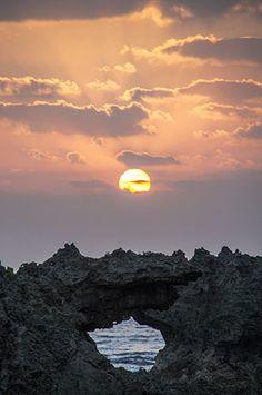 日の出  in Japan