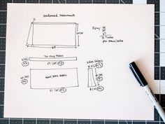 DIY Network has instructions on how to sew a headboard slipcover to update the look of your bedroom for little money. Headboard Cover, Bookcase Headboard, Headboard Ideas, Bedroom Ideas, Slipcovered Headboard, Slipcovers, Headboards, Sewing Crafts, Sewing Projects