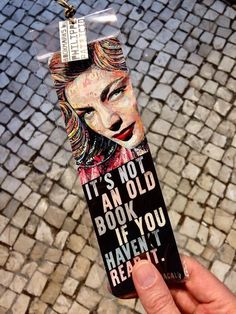 NEW BOOKMARK AVAILABLE  // LAUREN BACALL // (back view - 6 x 20cm) a small edition by the artist // from the original collage artwork by ©philippe patricio / all rights reserved