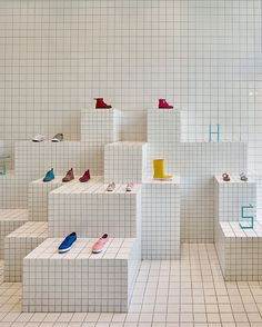 Little Shoes Shop by Nabito Architects | Yellowtrace